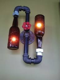 How To Decorate Beer Bottles 60 DIY Bottle Lamps Decor Ideas That Will Add Uniqueness To Your Home 27