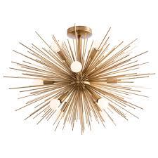 zanadoo semi flush ceiling light fixture by arteriors home ah 89967