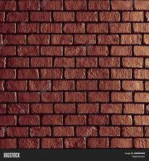 image of old red brick wall texture background dark brown black