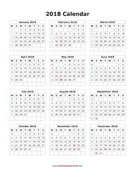 yearly printable calendar 2018 2018 calendar yearly printable printable editable blank calendar