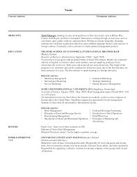 Resume Examples Templates Easy Format Marketinger Bid Example