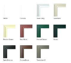 Ply Gem Window Size Chart Window Colors Consists Info
