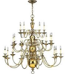 3 tier chandelier light inch burnished brass foyer chandelier ceiling light 3 tier odeon crystal fringe