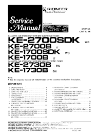 pioneer deh 2700 wiring diagram wiring diagram and schematic design stereo wiring diagram connector pinout pioneer deh 2700 operation manual page 1