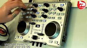 <b>DJ контроллер HERCULES</b> DJ CONSOLE MK4 - YouTube