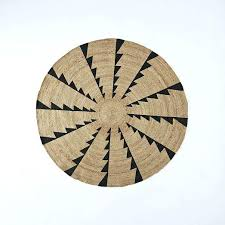 round jute rug 8 best casual natural fiber handwoven light grey 8x10