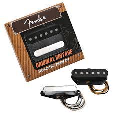 fender tele `52 vintage tele set electric guitar pickup fender tele `52 vintage tele set