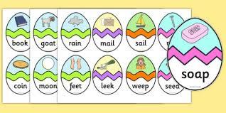 word easter egg phase 3 cvc words easter egg matching activity phase 3 phase