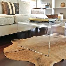 lucite waterfall coffee table craft waterfall ...