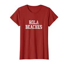 Bench T Shirt Design Hola Beaches Summer Holiday Vacation T Shirt Clothing