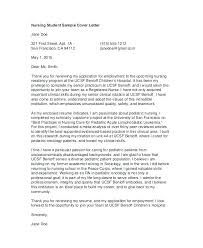 How To Write A Nursing Cover Letter Cover Letter Examples For Nursing Nursing Cover Letters For Resumes