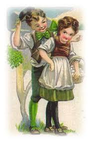 Free Vintage St Patrick's Day Clip Art - Vintage Holiday Crafts