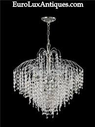 ... Stunning Unique Crystal Chandeliers Vintage Lighting Amp Chandeliers  Letters From Eurolux ...