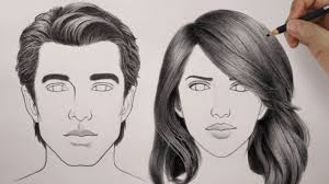How To Draw Realistic Hair Easiest Way Rapidfireart