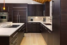 Dark Kitchen Cabinets With Light Granite Enchanting 48 Beautiful Kitchen Colors With Dark Cabinets Home Design Lover