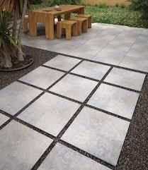 beton grey pavers porcelain a