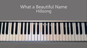 What A Beautiful Name Hillsong Piano Tutorial