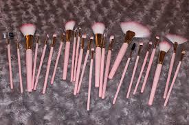 ebay 24 piece pink make up brush set