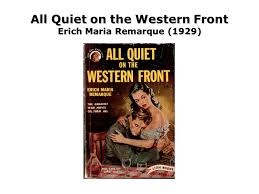 All Quiet On The Western Front Erich Maria Remarque 40 Ppt Enchanting All Quiet On The Western Front Quotes