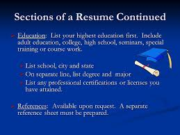 Resume And Cover Letter Workshop Purpose Of A Resume The Resume