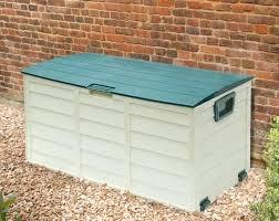 full size of plastic garden storage units bq bench large 4 x 2 plus box