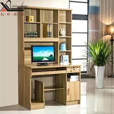 computer desk with bookshelf bookshelves and