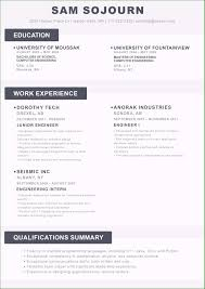Great Resume Examples Well Designed Examples Of Resumes 2018 You Need To Consider