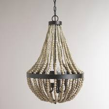 popular on small wood bead chandelier discover a blog by world market