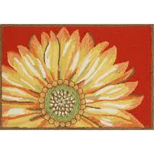 sunflower indoor outdoor rug designed by liora manne sturbridge yankee work