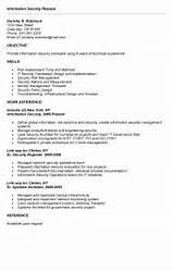 Information Security Information Security Resume
