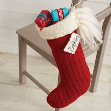 Handmade Christmas Stockings Personalised Handmade Christmas Stocking By Andrea Dunne Original