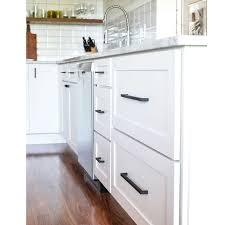 12 Square Bar Kitchen Cupboard Handle Pulls Black Cabinet Hardware