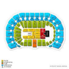 Intrust Bank Arena 2019 Seating Chart