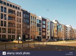 Modern Apartment Buildings Berlin Germany Stock Photo Royalty