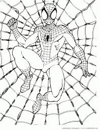 Small Picture Spiderman Coloring Pages For Kids Pics Coloring Spiderman Coloring