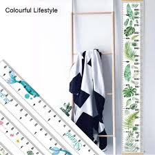 Hanging Growth Chart Us 4 69 42 Off Wooden Wall Hanging Baby Child Kids Growth Chart Height Measure Ruler Wall Sticker Decorative Child Kids Growth Chart Nursery In Wall