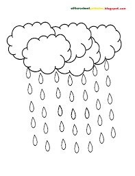 Small Picture Rain Coloring Pages zimeonme