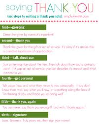 How To Write A Better Thank You Note On Studio 5 Thank You Notes