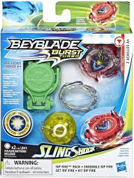 Beyblade Light Wheel Hasbro Beyblade Burst Slingshock Rip Fire Starter Pack Z Achilles A4 Battling Light Up Top Multicolo