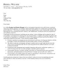 Business Cover Letter Sample By Debra Wilser Cover Letter Business