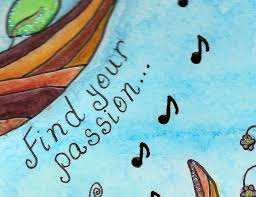 find your passion art journal just4crafters your passion journal page sentiment