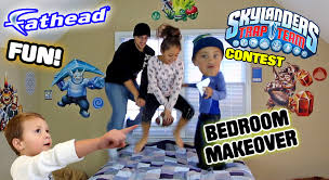 Mikeu0027s Bedroom Upgrade! Skylanders Trap Team Fathead Wall Decals! W/  Contest U0026 Timelapse (REAL BIG)   YouTube