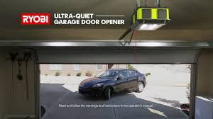 quiet garage door openerRYOBI Garage Door Opener  YouTube
