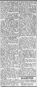 Lafayette Peters, obit. - Newspapers.com
