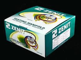 Manifold gauges set R12 <b>R22 R134</b> R404 <b>refrigerant</b> on car ...