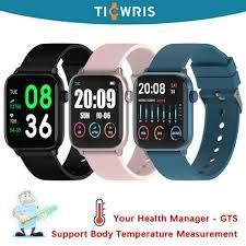 <b>Ticwris GTS</b> Multi Sport Mode Smart Watch IP68 <b>Real time Body</b> ...