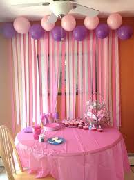 diy birthday party ideas en pared birthday party decorations love the streamers on the diy princess diy birthday party ideas