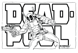 Dead Pool Coloring Pages Coloring Pages Also Vs Coloring Pages