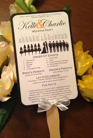 Wedding Program Fans Cheap A Round Up Of Free Wedding Fan Programs B Lovely Events