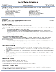 Guidelines To Resume Writing Resume For Study